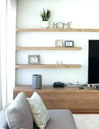 wall shelves decor ideas living room