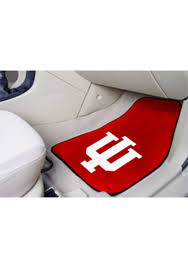 Sports Licensing Solutions Indiana Hoosiers 2 Piece Carpet Car Mat Red 1650271