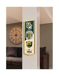 You The Fan Ncaa Baylor Bears 3d Stadium Banner 6x19 Belk