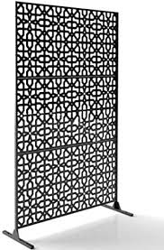 Amazon Com Decorative Laser Cut Privacy Metal Screen Panel Fence 3 Pieces Of 4 X 2 Screens Can Make A 4x6 Feet Metal Privacy Stand Or Use For Other Home Decor Purposes Laser3pcs Circleknot B