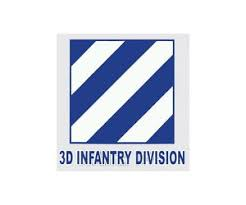 Army 3rd Infantry Division Decal 4 Wide X 4 High Midtown Military