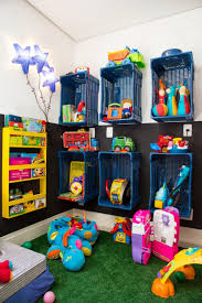 Using Plastic Milk Crates As Storage Kids Playroom Kids Room Design Kids Room