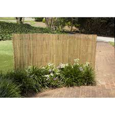 Gardenpath 1 2 In Outside Peel Bamboo Fence 4 Ft H X 8 Ft L Walmart Com Walmart Com
