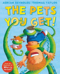 The Pets You Get by Adrian Reynolds | Books From Sharon