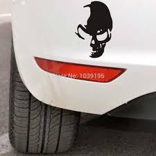 Genity Funny Skull Ghost Rider Car Stickers Alfonsocarter