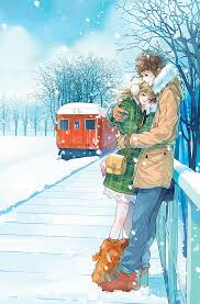 hd wallpaper anime couple cute love