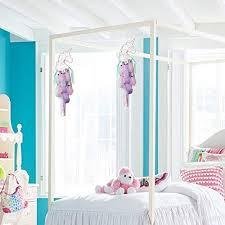 Dremisland Light Up Unicorn Dream Catcher Room Decor Gift Purple Pink Green Feather Hanging For Unicorn