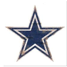 Adventure Furniture Nfl Indoor Dallas Cowboys Distressed Logo Cutout Wood Sign N0843 Dal The Home Depot