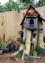 fairy hotel idea for my dragon tree