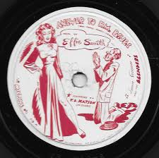 Effie Smith, Jimmie Grissom And The Blenders , Featuring T. B. Watson -  Answer To R.M. Blues / It's Been So Long (1947, Shellac) | Discogs