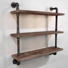 artiss display wall shelves industrial