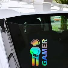 Multicolor Video Game Gamer Car Decal Auto Car Door Wall Bumper Vinyl Sticker For Sale Online