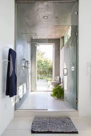 glass shower door clean