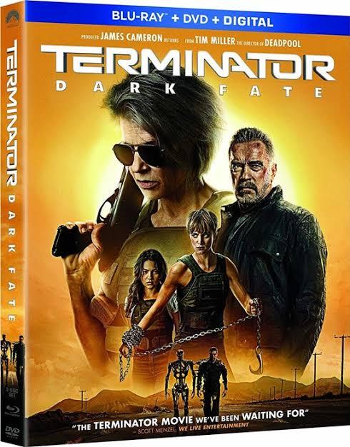 """ผลการค้นหารูปภาพสำหรับ Terminator: Dark Fate (2019) bluray"""""""