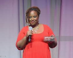 ESSENCE.com Executive Director Abby West speaks on stage at The... News  Photo - Getty Images