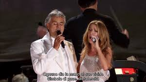 The Prayer (Lyrics) - Andrea Bocelli and Celine Dion Live - YouTube