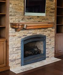 wood fireplace mantel shelf