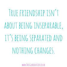 true friendship this glorious life