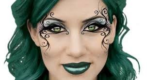 steunk eye makeup cat eye makeup