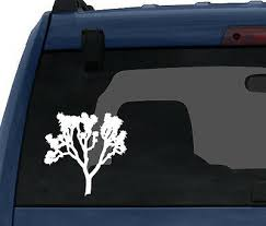 Joshua Tree Yucca Palm Desert U2 National Park Car Tablet Vinyl Decal Ebay