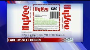 fake hy vee coupon is duping people on