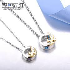 necklaces gold phoenix circle pendants