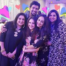 Image result for Arun Vijay With sisters