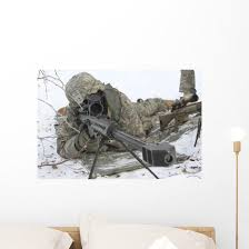 Snipers Provide Overwatch Fort Wall Decal Wallmonkeys Com