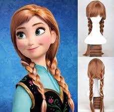 diy princess anna costume makeup from
