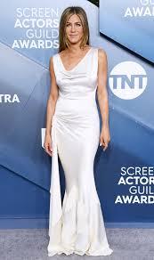 SAG Awards 2020: Jennifer Aniston Wears White Gown