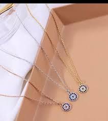 rose gold charm necklace adjustable