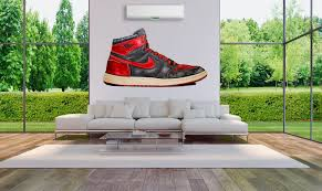 Jordan 1 Banned Wall Decal Wallkicks