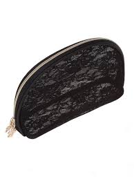 black lace makeup bag saubhaya makeup