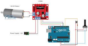 dc motor control tutorial l298n pwm