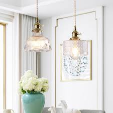 total copper pendant light hanging