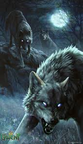 angry wolves wallpaper iphone 2020 3d
