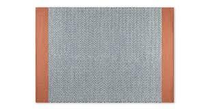 forio wool chevron flat weave rug