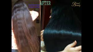 2 step henna indigo process dye hair