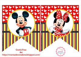Mama Decoradora Kit Imprimible Mickey Mouse Gratis
