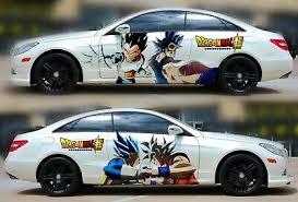Goku Dragon Ball Z Car Hood Wrap Color Vinyl Sticker Decal Fit Any Car 71 88 Picclick Ca