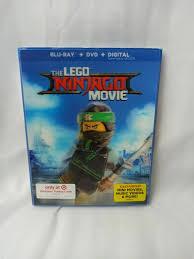 The Lego Ninjago Movie Blu Ray DVD Walmart 6 Bonus Keychains Buy ...