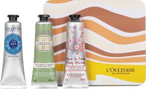 l occitane hand cream trio collection