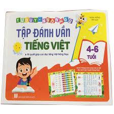 Sách Tư Duy Ngôn Ngữ - Tập Đánh Vần Tiếng Việt