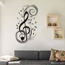 Diy Musical Note Home Decor Music Wall Stickers Waterproof Removable Vinyl Decals Kids Room Home Decoration Vinyl Wall Art Vinyl Wall Art Decal From Lyq669 22 12 Dhgate Com