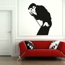 Elvis Presley Giant Wall Art Stickers Transfers Graphics Giant Wall Art Sticker Wall Art Christmas Wall Stickers