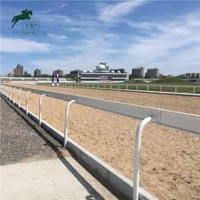 China Horse Racing Fnece Horse Racing Rail Fence China Horse Running Fence And High Quality Vinyl Horse Running Fence Price
