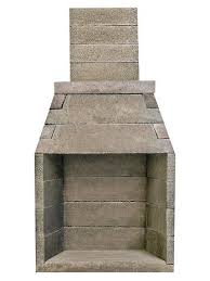 masonry fireplace kit
