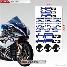 Logo Applique Motorcycle Sticker Bicycle Car Fuel Tank Sticker Reflective Waterproof Decal Helmet Logo For Bmw Hp4 From Motok 14 08 Dhgate Com