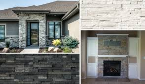 add curb appeal with cultured stone