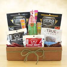 dried meat and y gift basket beef